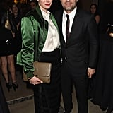 Mark Ruffalo and Sunrise Coigney stepped out for the Sony Pictures party on Saturday.