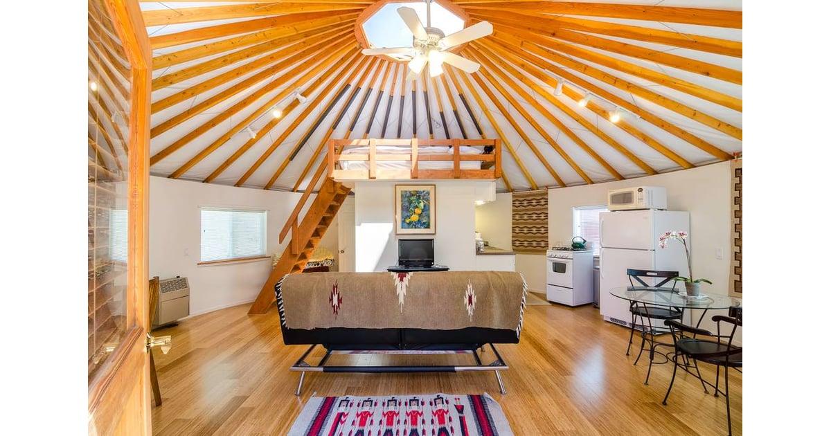 Malibu Farm Yurt On Airbnb Popsugar Home Australia Photo 4 Yakınlarınızda ya da uzak yerlerdede maceralar bulun, dünyanın her köşesindeki benzersiz evlere, deneyimlere ve yerlere ulaşın. malibu farm yurt on airbnb popsugar