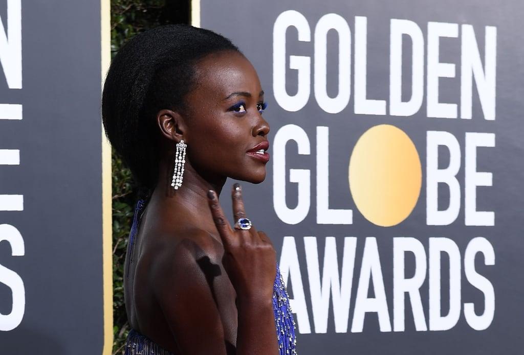 Lupita Nyong'o at Golden Globes
