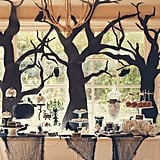A Spooky Yet Elegant Halloween Forest Party