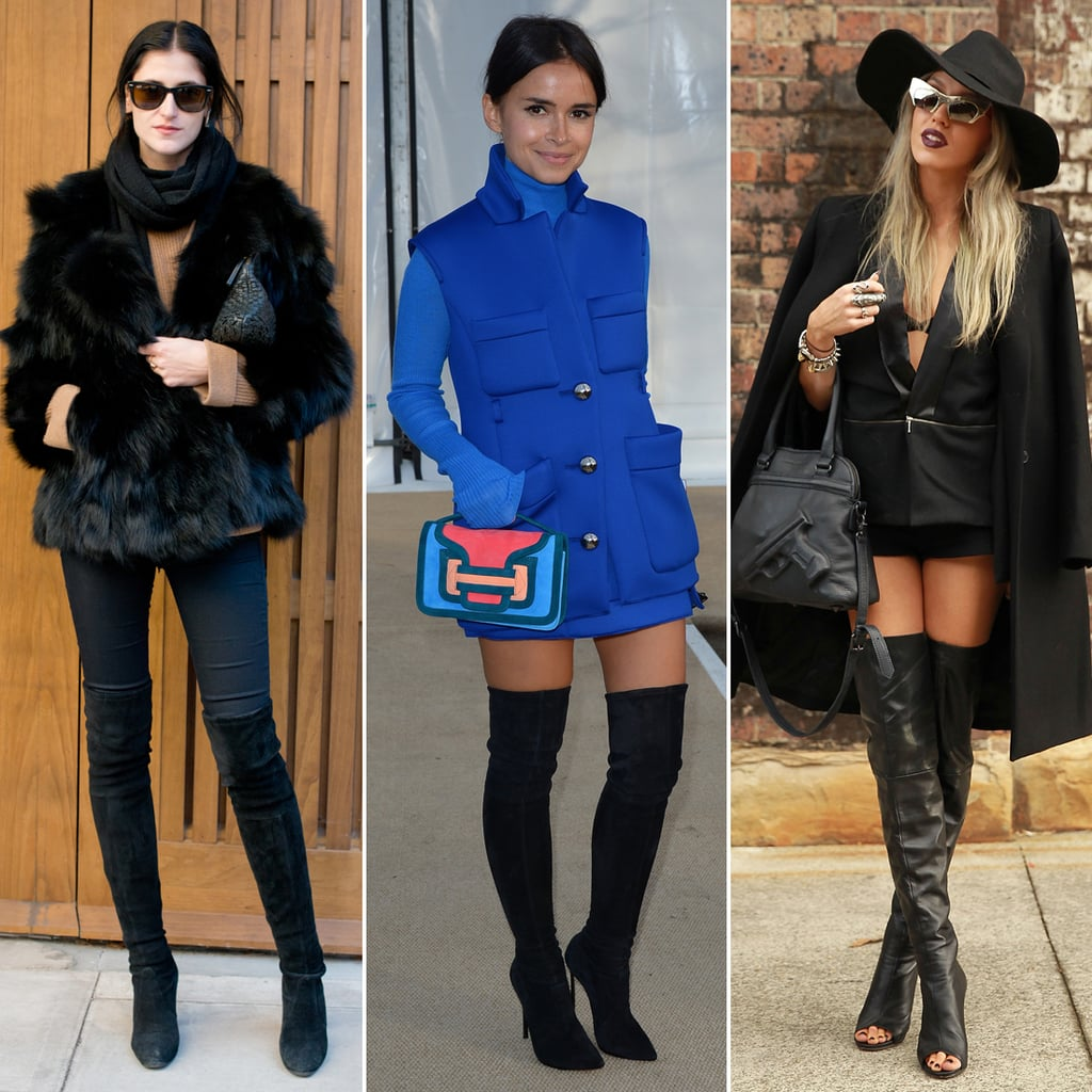 How to Wear Over-the-Knee and Thigh-High Boots | POPSUGAR Fashion UK