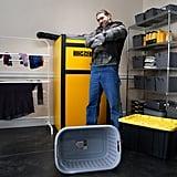 Jason Momoa in GE's Big Boy Appliances SNL Skit Dec. 8, 2018