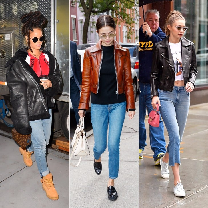 How to Wear a Leather Jacket and Jeans