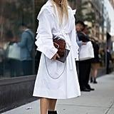 Carry a Suede Version of the Handbag