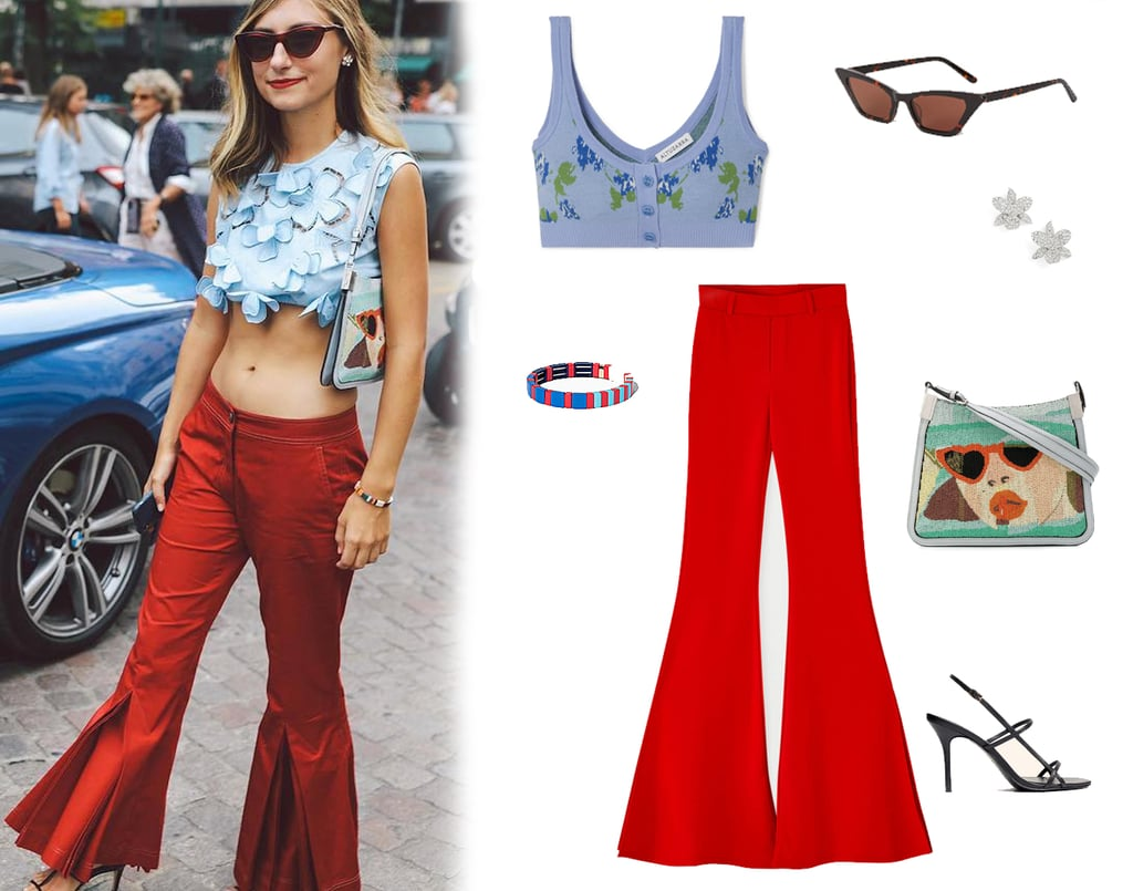 e1503fbf01 Crop Top Outfit Idea 2019 | POPSUGAR Fashion