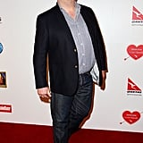 Eric Stonestreet arrived at the party.