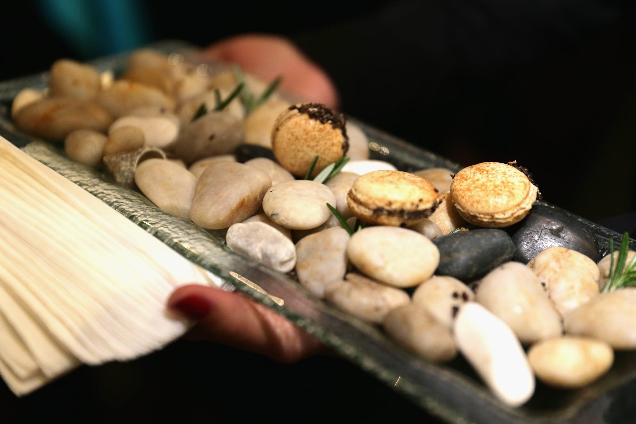 Mushroom Truffle Macaron