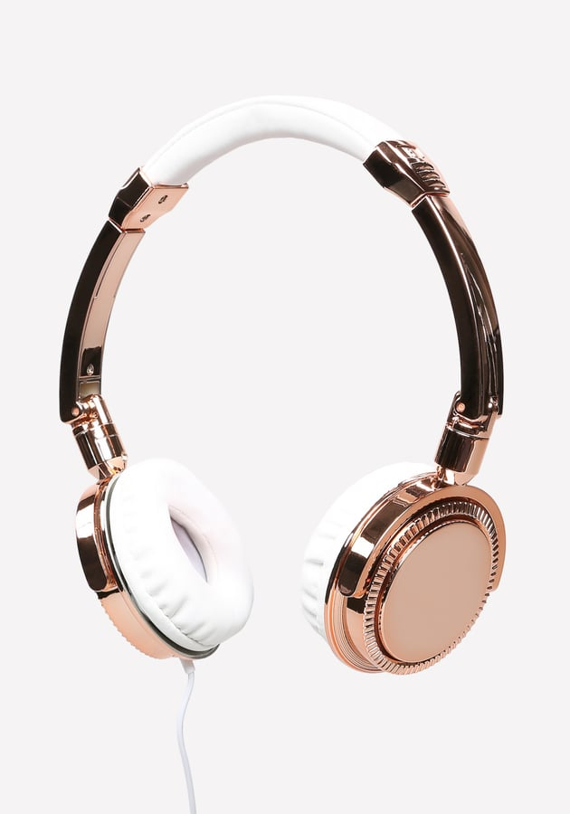 Metallic Headphones