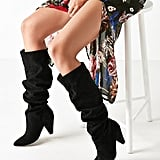Urban Outfitters Scrunch Knee-High Boot