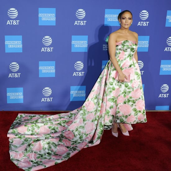 Jennifer Lopez Stunned at the Palm Springs Film Festival