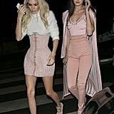Their Barbie-Pink Balmain Outfits