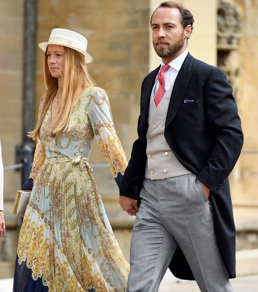 James Middleton Girlfriend H&M Dress at Royal Wedding 2019