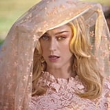 "Katy Perry's Pink Makeup in the ""Never Really Over"" Music Video"