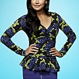 Naya Rivera as Santana on Glee.