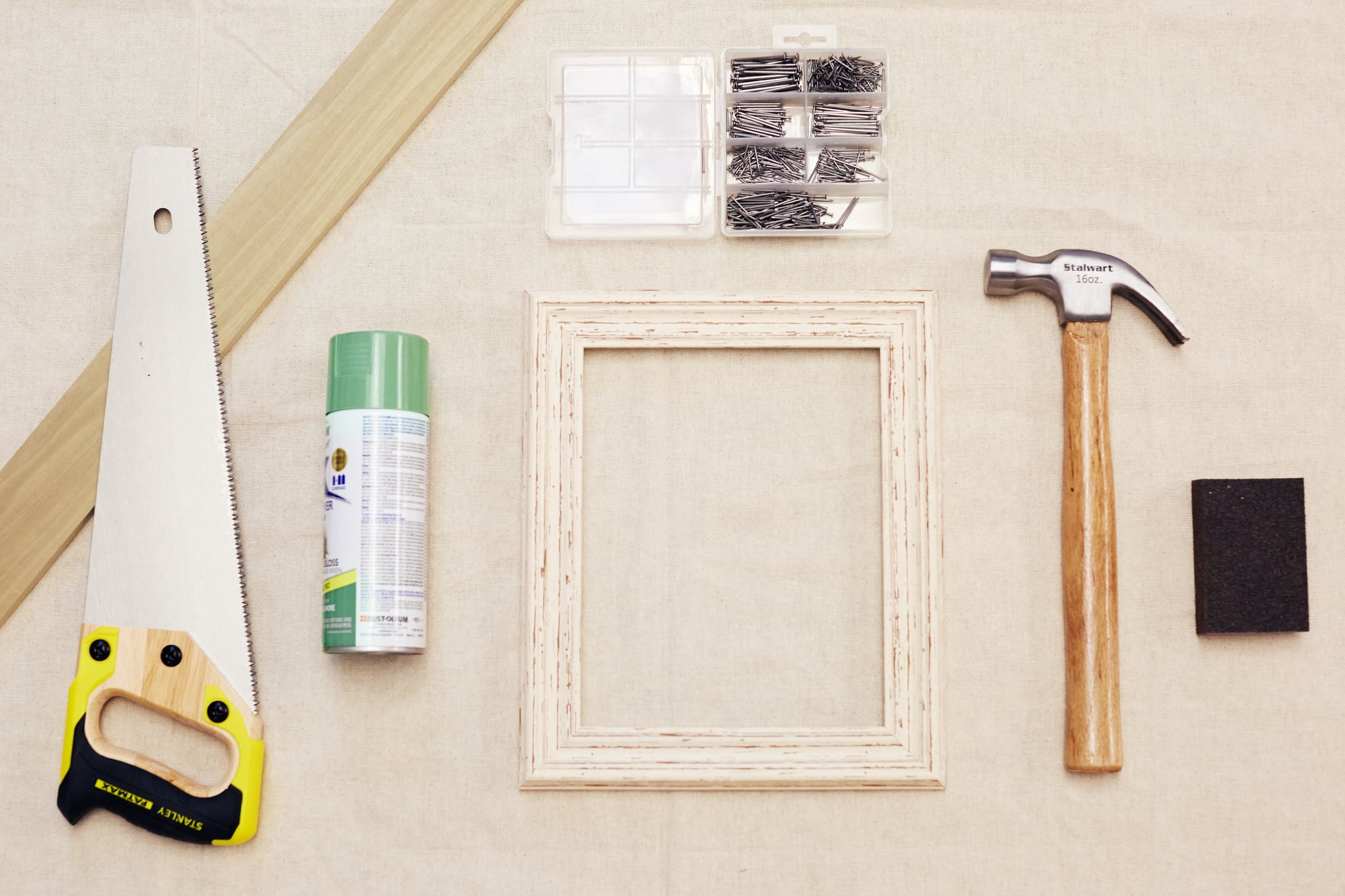 DIY Picture-Frame Shelf | POPSUGAR Smart Living