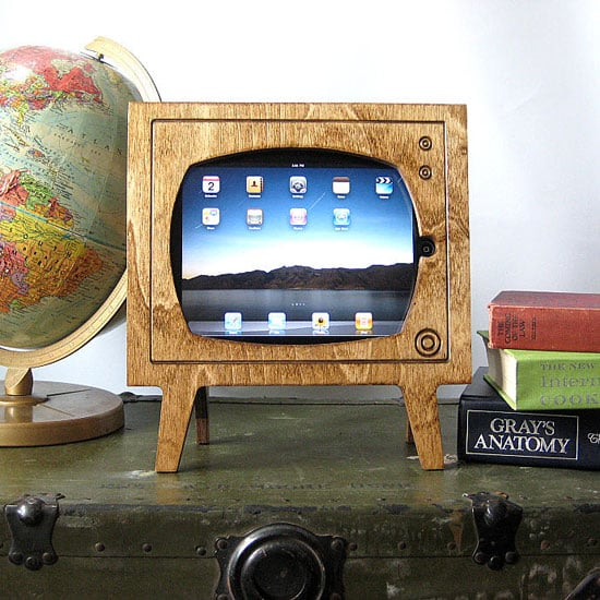 Wooden iPad Frame From Etsy