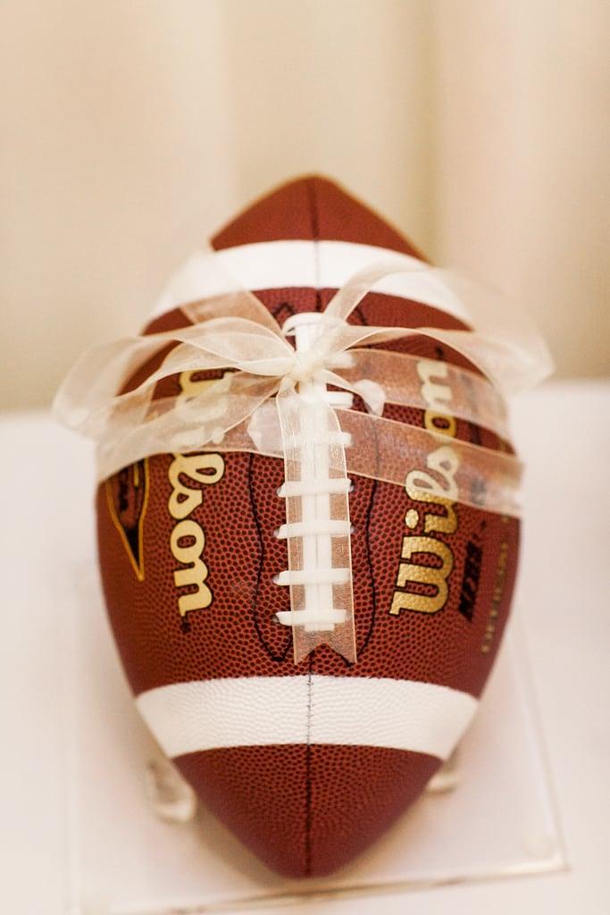 "Football Ring ""Pillow"""