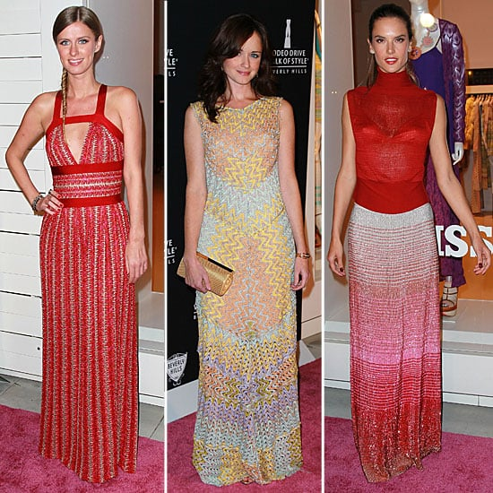 Walk of Style Honors Iman and Missoni