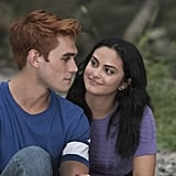 KJ Apa and Camila Mendes as Archie and Veronica