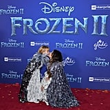 Selena Gomez and Gracie Teefey at the Frozen 2 Premiere