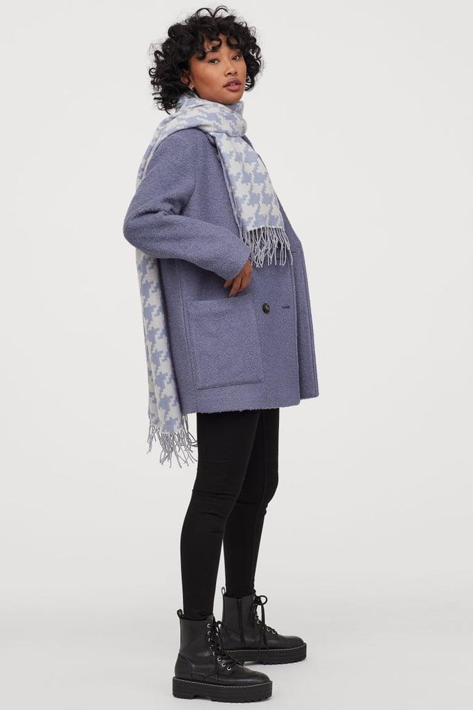H&M Short Bouclé Coat