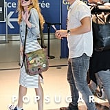 Bella Thorne and Gregg Sulkin Airport Style