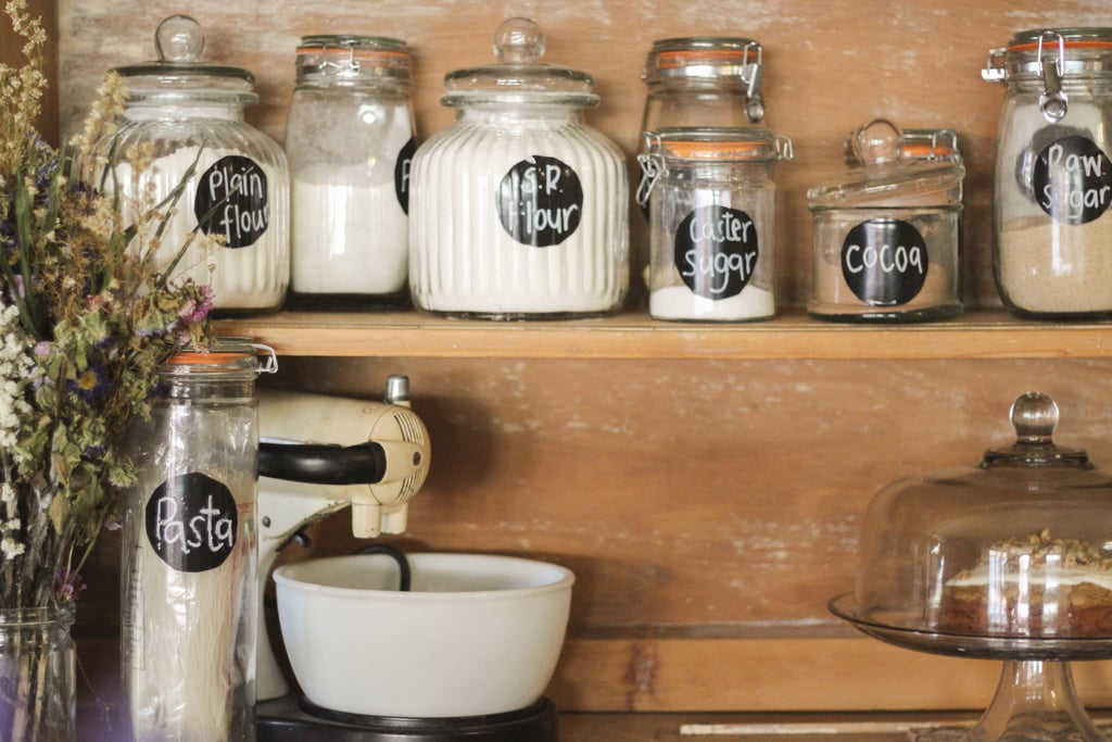 Store Bulk Items in Attractive Containers