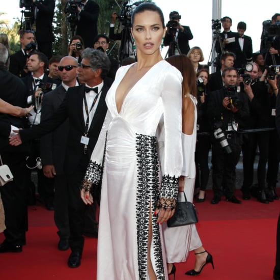Adriana Lima's Prada Dress at the Cannes Film Festival 2016