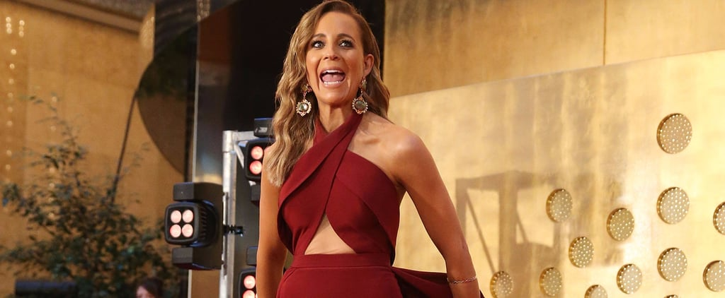 Carrie Bickmore's Dress Has 1 Dramatic Feature You Wouldn't Expect
