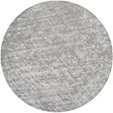 """Handwoven Mandara Gray Rug (7'9"""" Round) ($936)"""