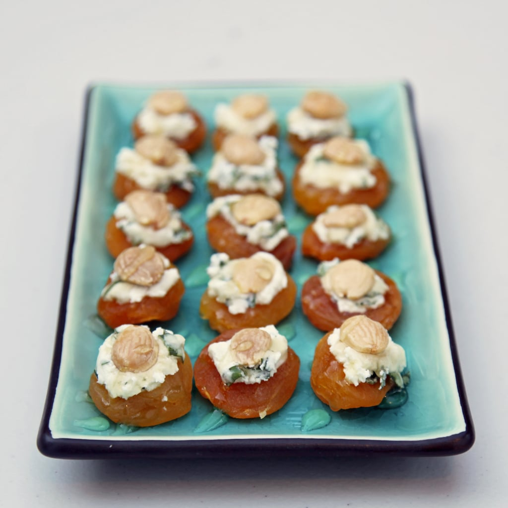 Almond, Goat Cheese, and Apricot Bites