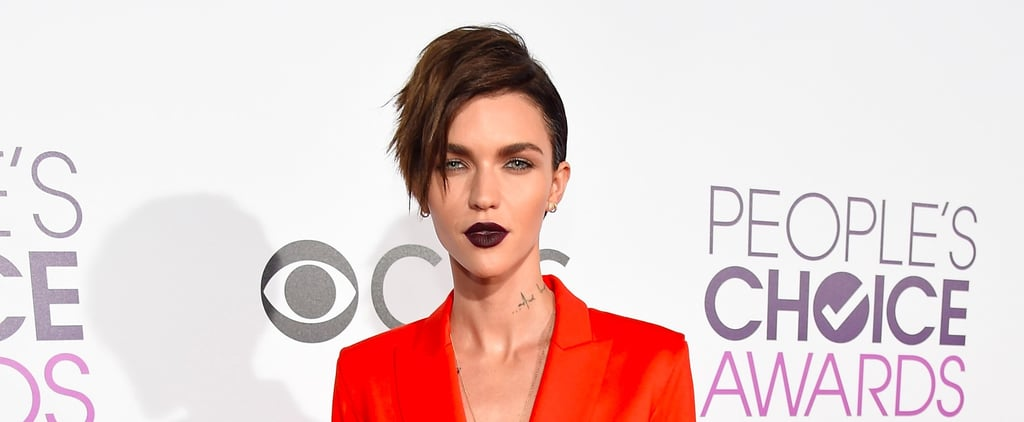 You Can't Miss Ruby Rose's Nod to Orange Is the New Black at the PCAs