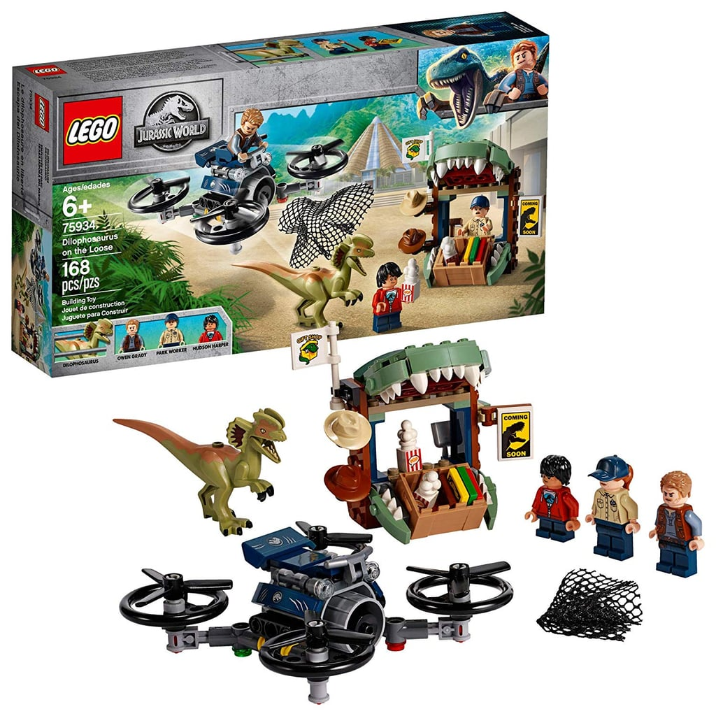 Lego Jurassic World Dilophosaurus on the Loose