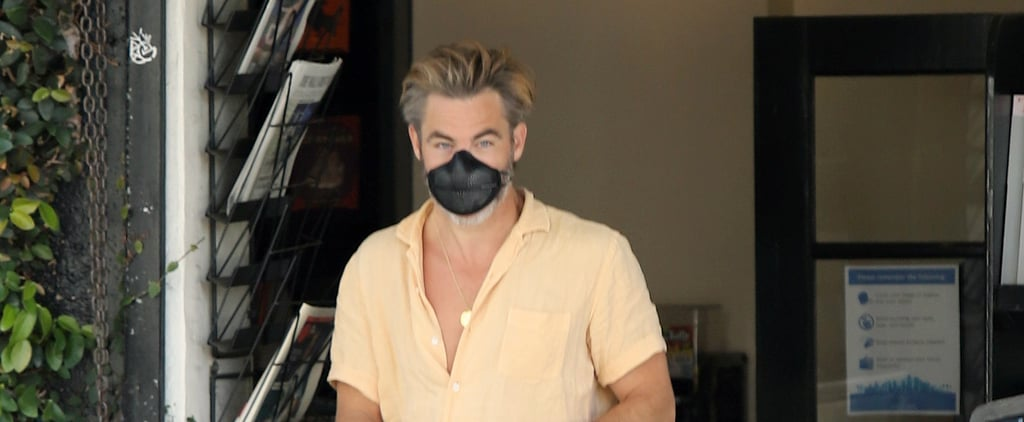 Chris Pine's Corduroy Shorts From Banks Journal