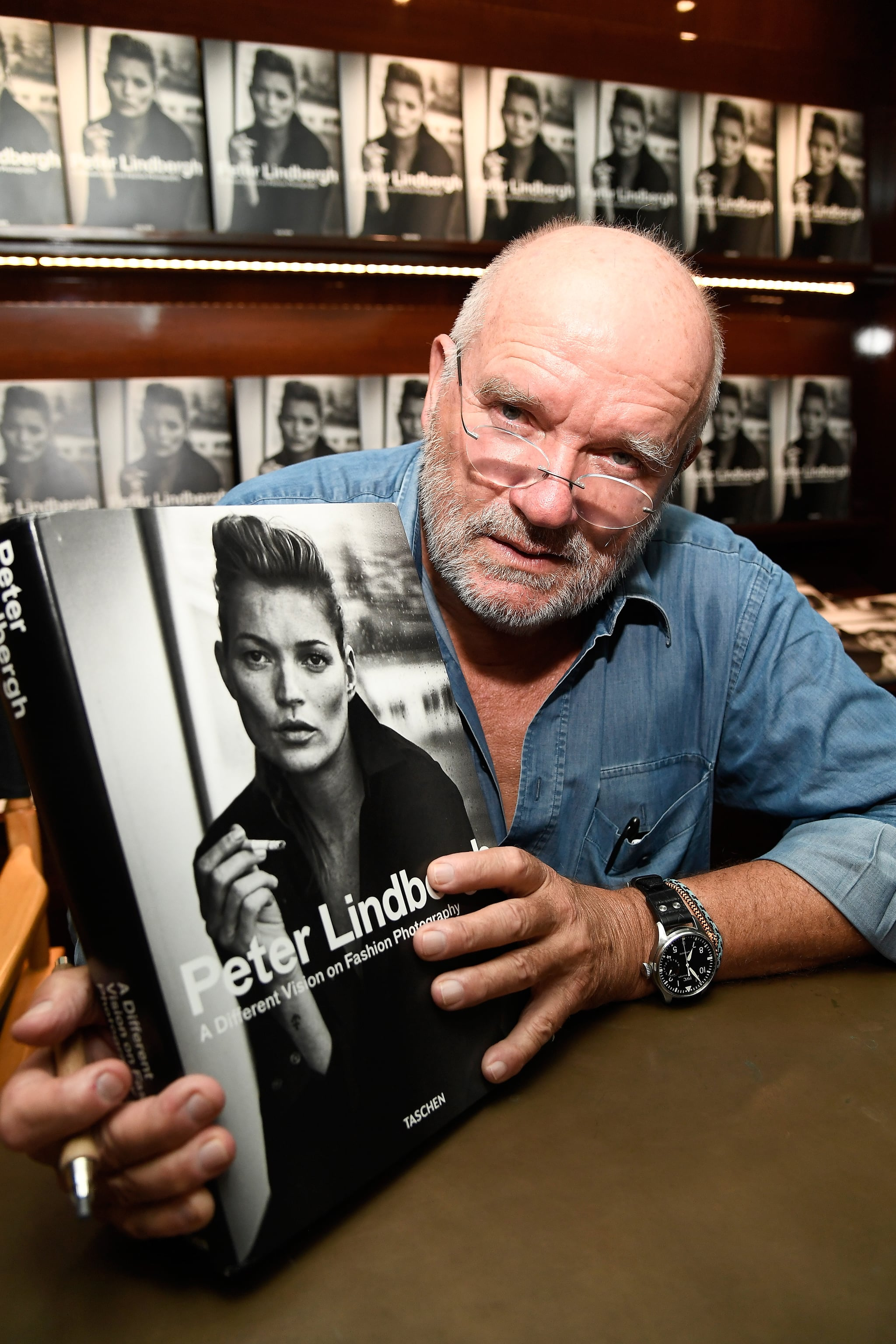 LOS ANGELES, CA - SEPTEMBER 20:  Photographer Peter Lindbergh attends his Book Signing for