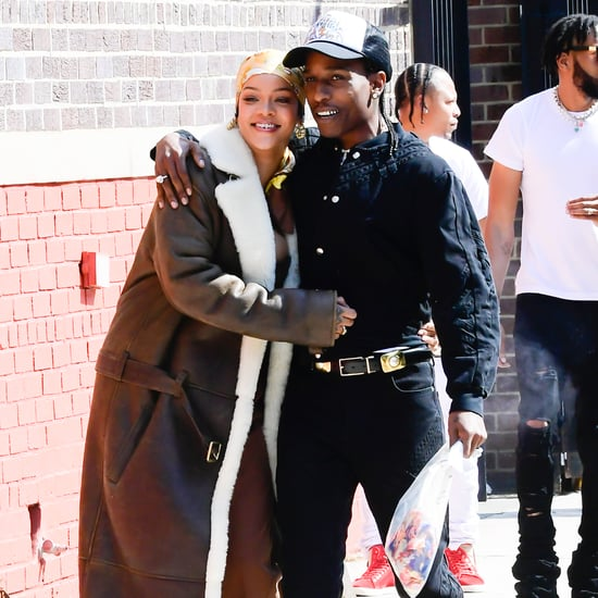 Rihanna and A$AP Rocky Were Just Seen Filming a Music Video