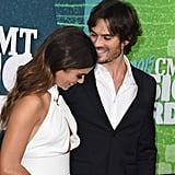 The couple shared a sweet laugh at the 2015 CMT Awards in Nashville.