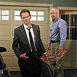 When Barney starts learning about his real father, it's one of those times the show gets real — and great.