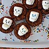 Marshmallow Sprinkle Skulls with Brownies