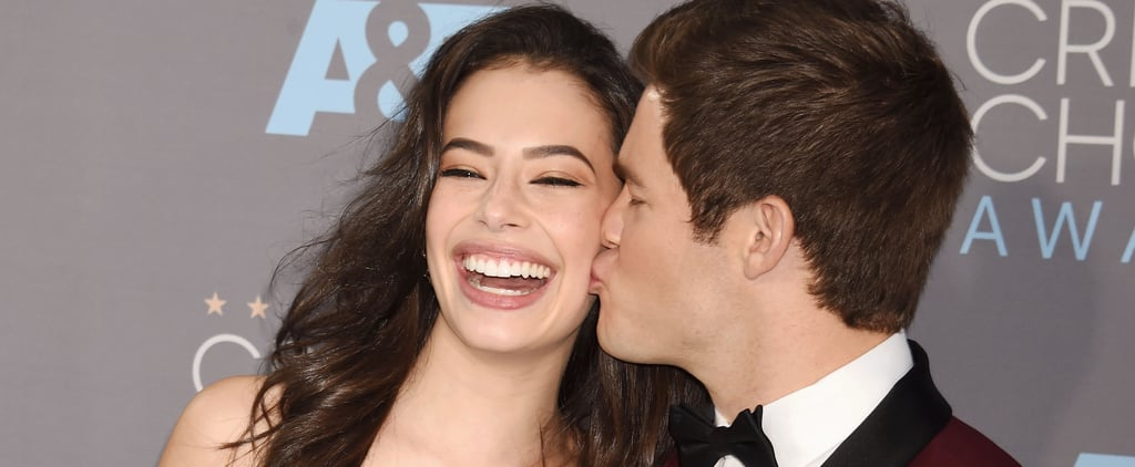 Adam DeVine and Chloe Bridges Cute Pictures