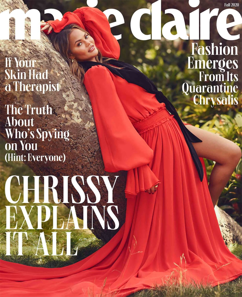 Chrissy Teigen Quotes in Marie Claire Fall 2020