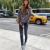 A Sweater, Skinny Jeans, and Heeled Booties