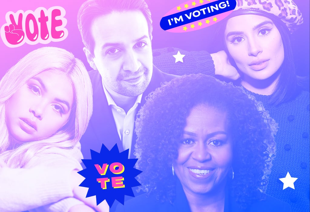 Celebrities Give First-Time Voters Advice For 2020 Election