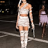 Chanel Iman as a Zombie From The Walking Dead