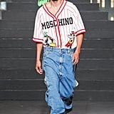 Another Model Wearing a '90s-Inspired Look