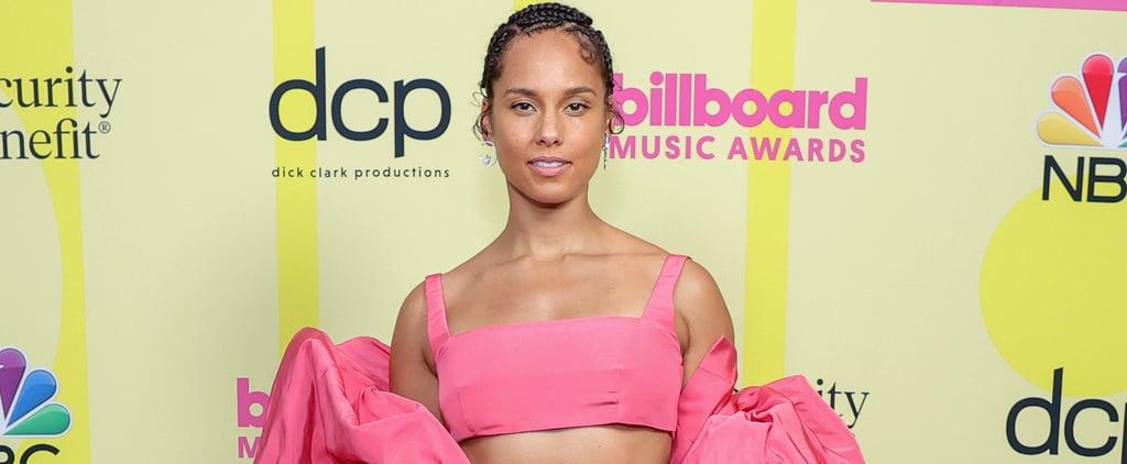 Alicia Keys's Pink Valentino Outfit at 2021 Billboard Awards