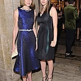 Anna Wintour and Bee Shaffer posed for photos at the Michael Kors Golden Heart Gala.