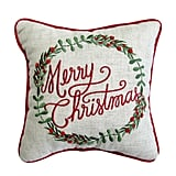 St. Nicholas Square ''Merry Christmas'' Mini Pillow