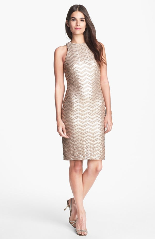 Alexia Admor Zigzag Sequin Dress