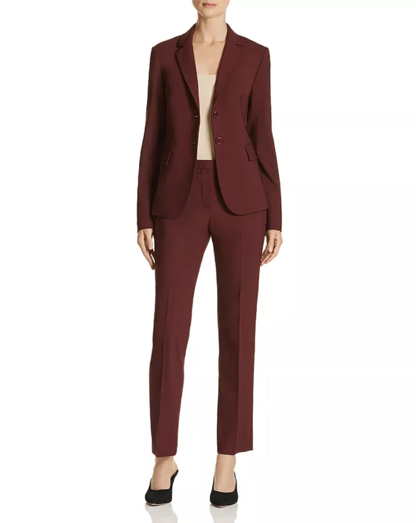 Theory Carissa Wool-Blend Blazer and Trousers